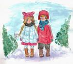 Cold Winter [Katya x Yurio] by Momossu