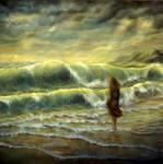 Facing the sea by jbillustration