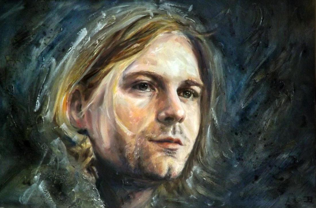 Kurt Cobain by jbillustration