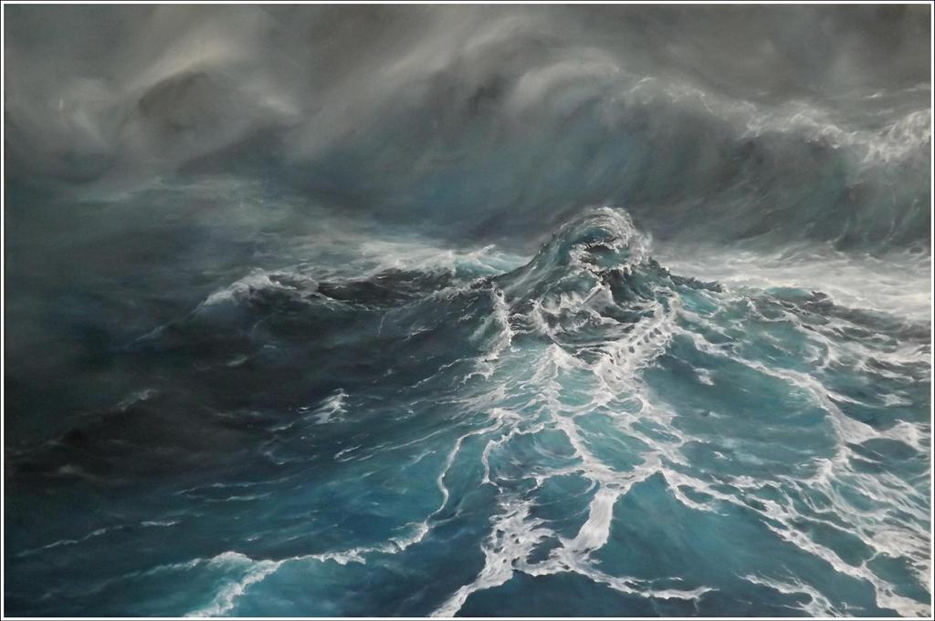 Newborn : the wave by jbillustration