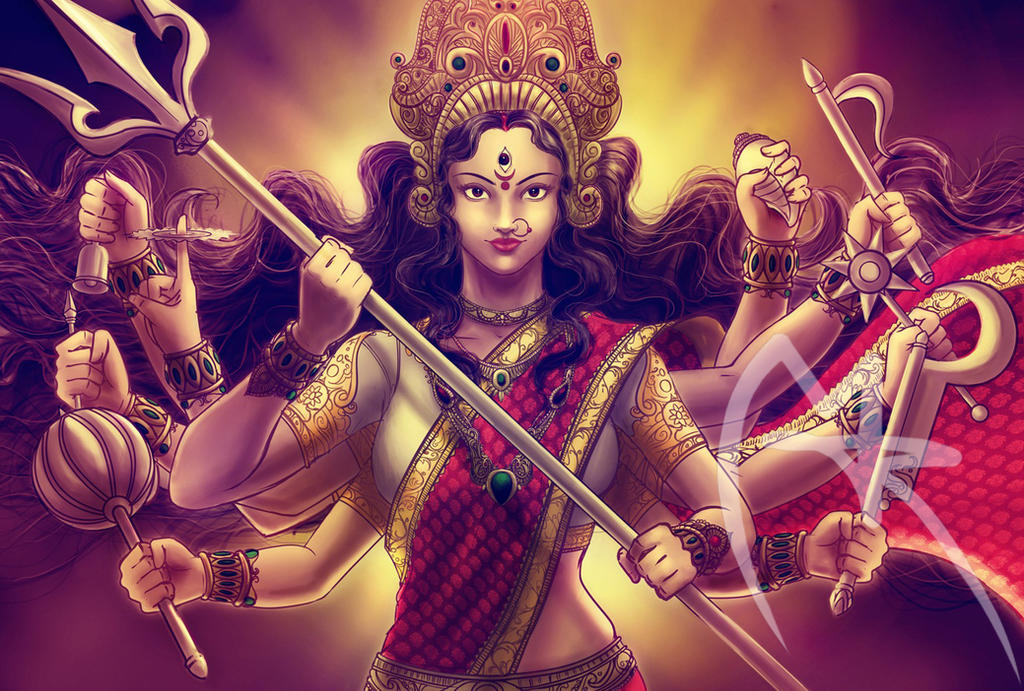 Image result for goddess Parvati digital art