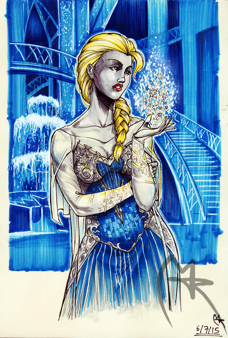 Elsa by loneHUNGRYwolf