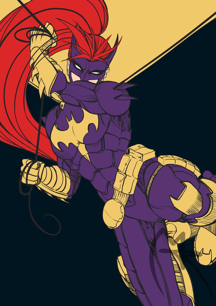 Batgirl by loneHUNGRYwolf