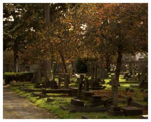 Autumn in Hanwell Cemetery 9 by Isyala