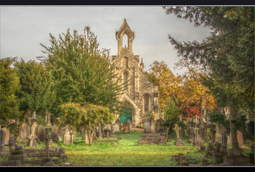 Autumn in Hanwell Cemetery 11 by Isyala