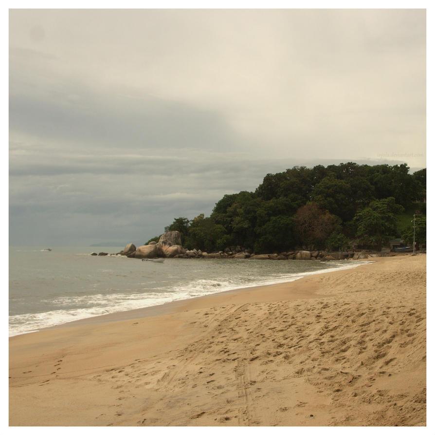 Penang coast by Isyala