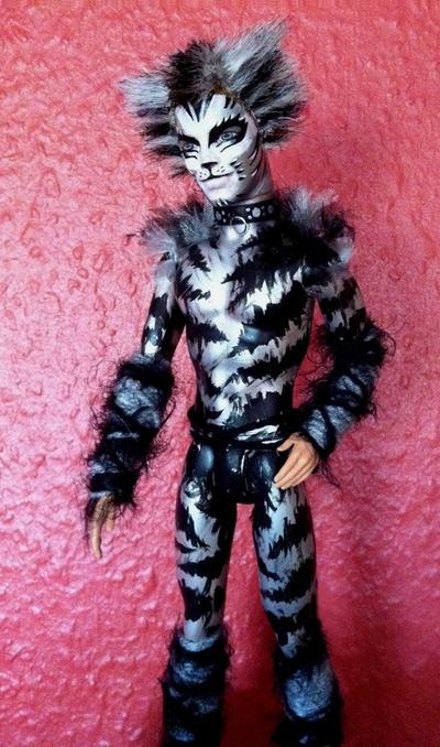 Cats Doll - Munkustrap by BWCat