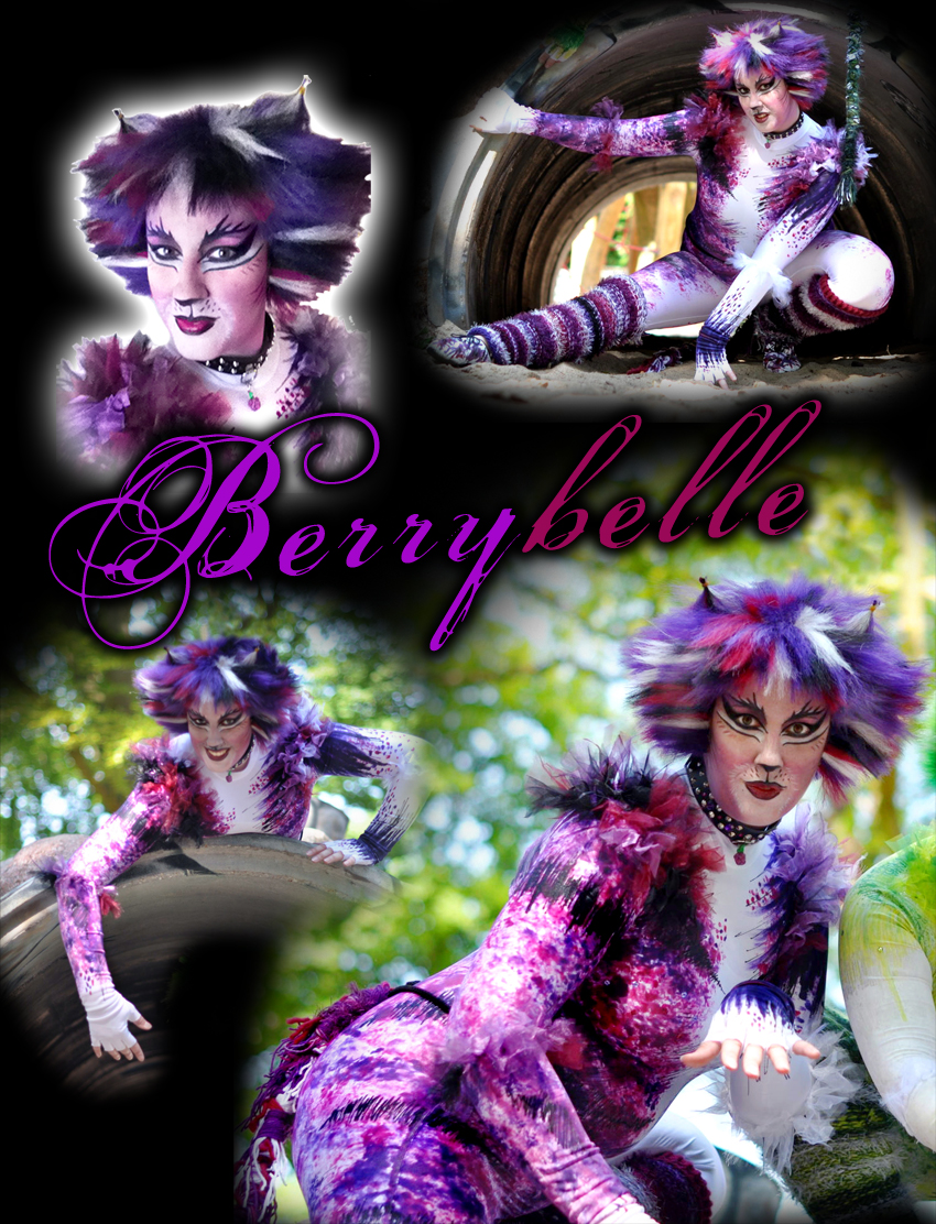 CATS Costume - OC Berrybelle by BWCat