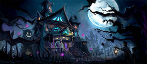 The Haunted House by anacathie