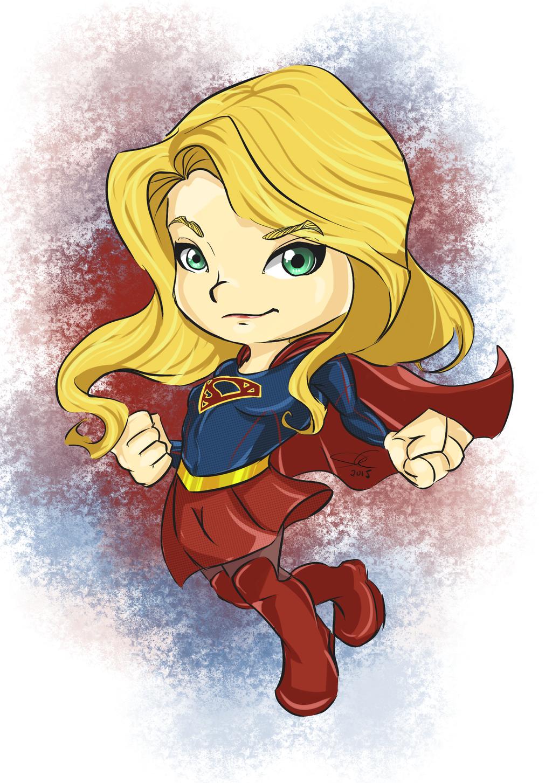 Supergirl chibi by wooserr on DeviantArt