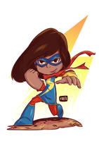 Chibi Ms. Marvel