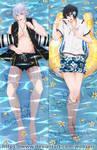 Yamato x Hibiki | Dakimakura Commission by wooserr