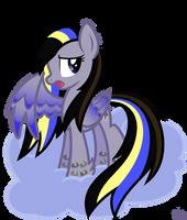 Rainbow Power Night Flyer by StarlessNight22