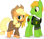 Applejack and Applesnack