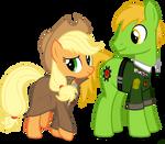Applejack and Applesnack
