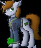 Fallout Equestria - Littlepip by StarlessNight22