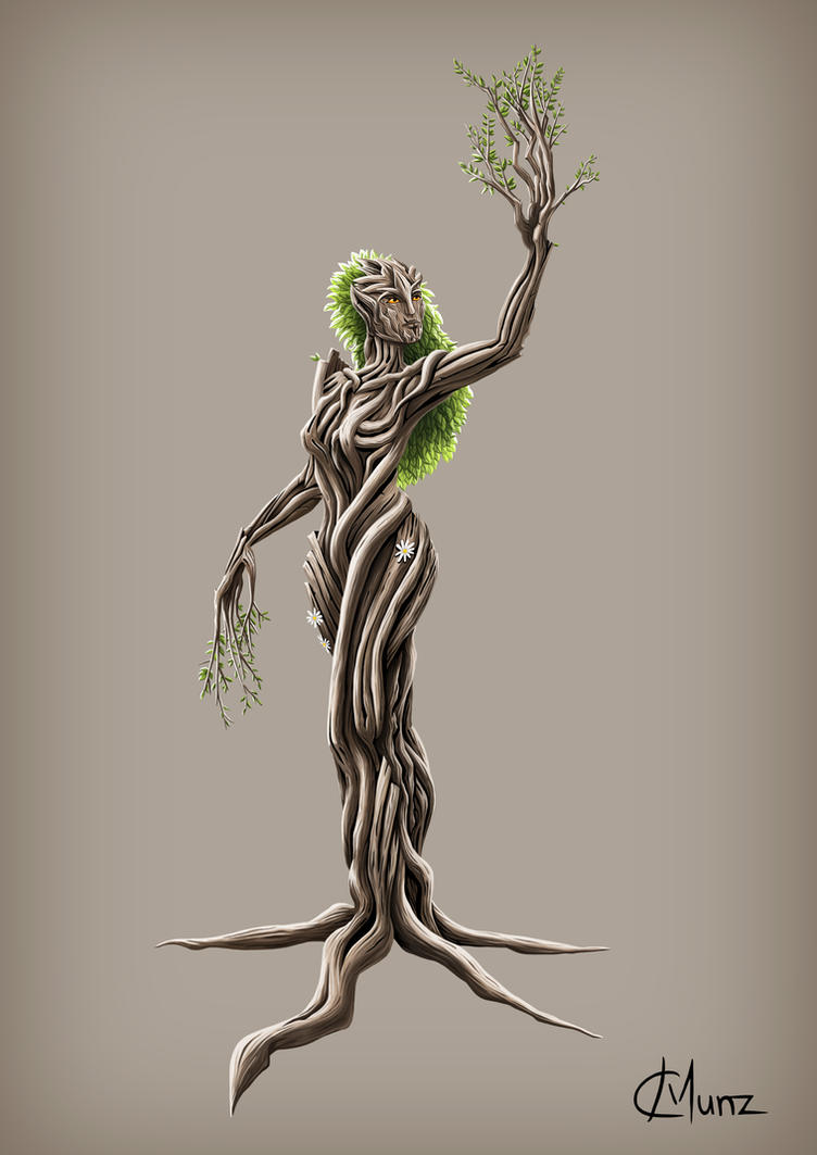 Dryad by ChristineMunz