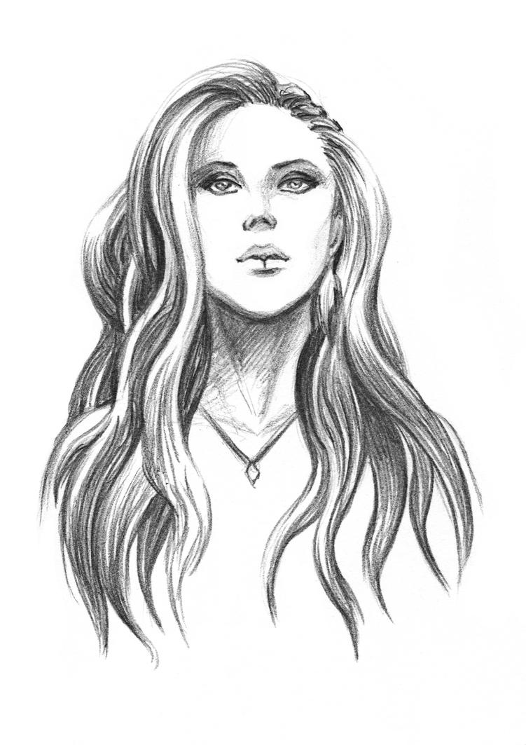 Alissa White Gluz Fanart by ChristineMunz