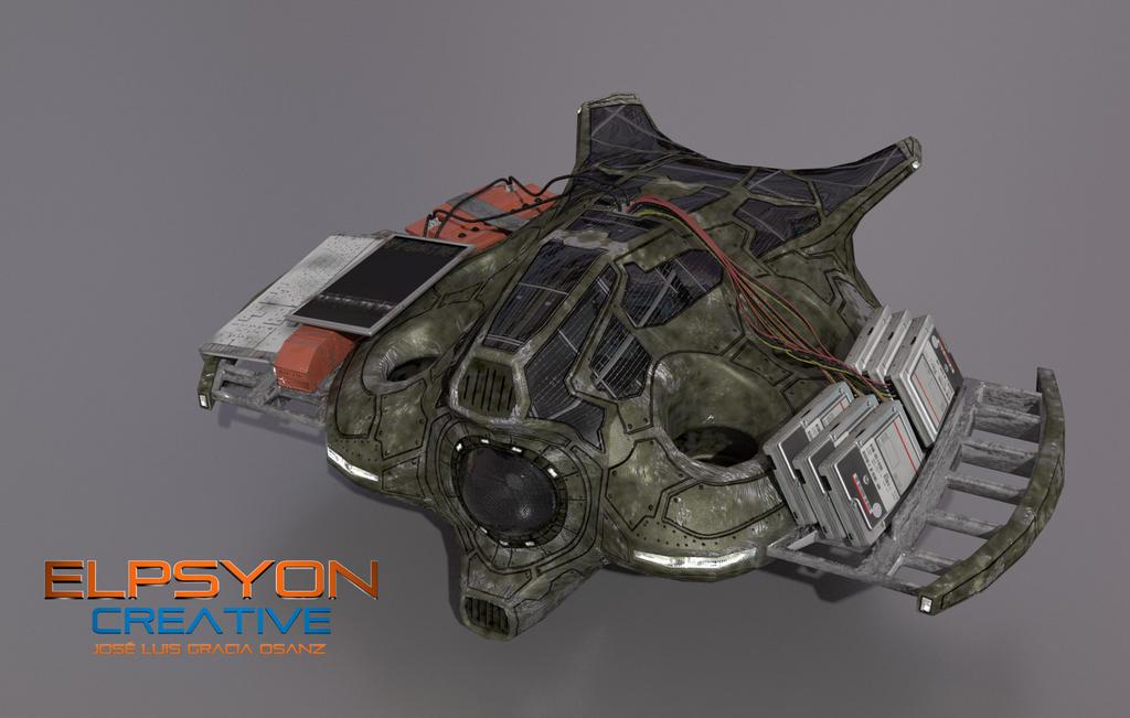 UAV in progress (WIP) by Elpsyon-Creative