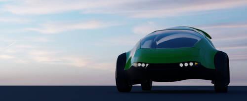 Concept City Car bodywork by Elpsyon-Creative