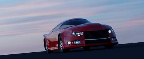 Concept Muscle Car bodywork