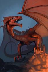 Dragon by GloomyWhisper