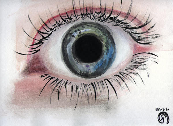 stock eye - delicateheart