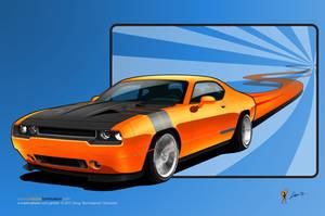 Orange Crush GTX by burningman