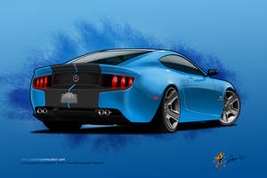 2014 Mustang Rear by burningman