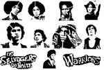 The Warriors Stencil