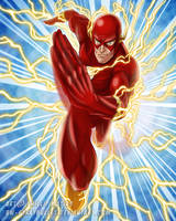 DC's Flash by BW-Straybullet