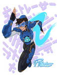 Cadet Oxton Dashes to Action