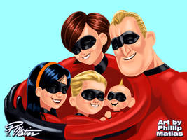 The Incredibles by BW-Straybullet