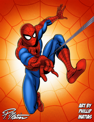 Here Comes the Spider-Man!!
