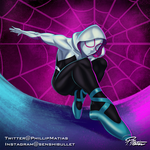 Spider-Gwen into the Spiderverse