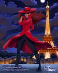 Carmen Sandiego in Paris