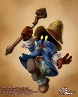 Vivi the Black Mage by BW-Straybullet
