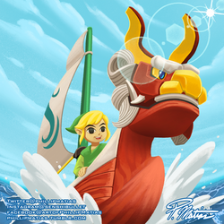Link on the Open Seas by BW-Straybullet