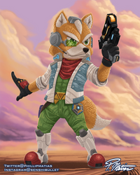Star Fox Ready to Smash! by BW-Straybullet