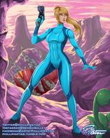 Samus' Zero Mission by BW-Straybullet