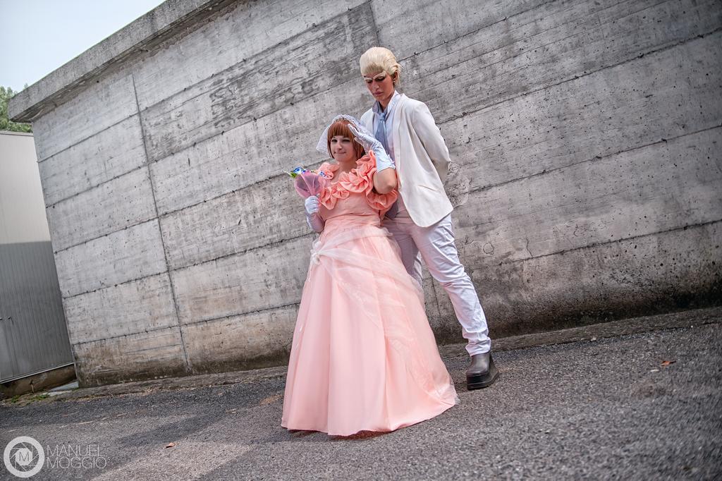 Wedding IraMako : Gamagori and Mako Cosplay by FlamesOfOblivion