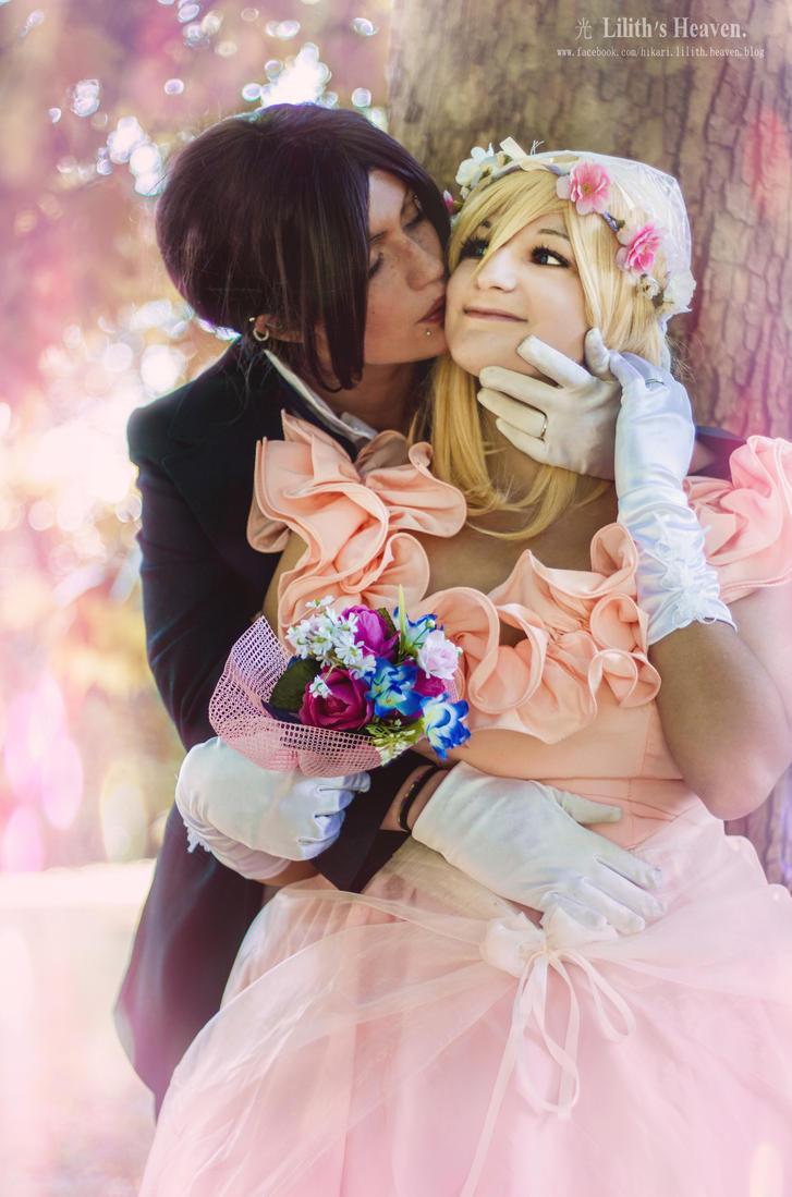Ymir and Historia: Wedding by FlamesOfOblivion