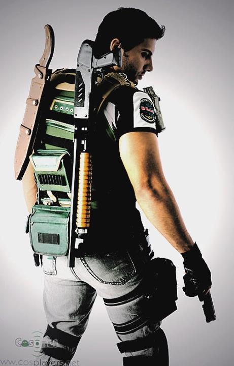 Chris Redfield Resident Evil 5 By Maicoumaniezzo On Deviantart