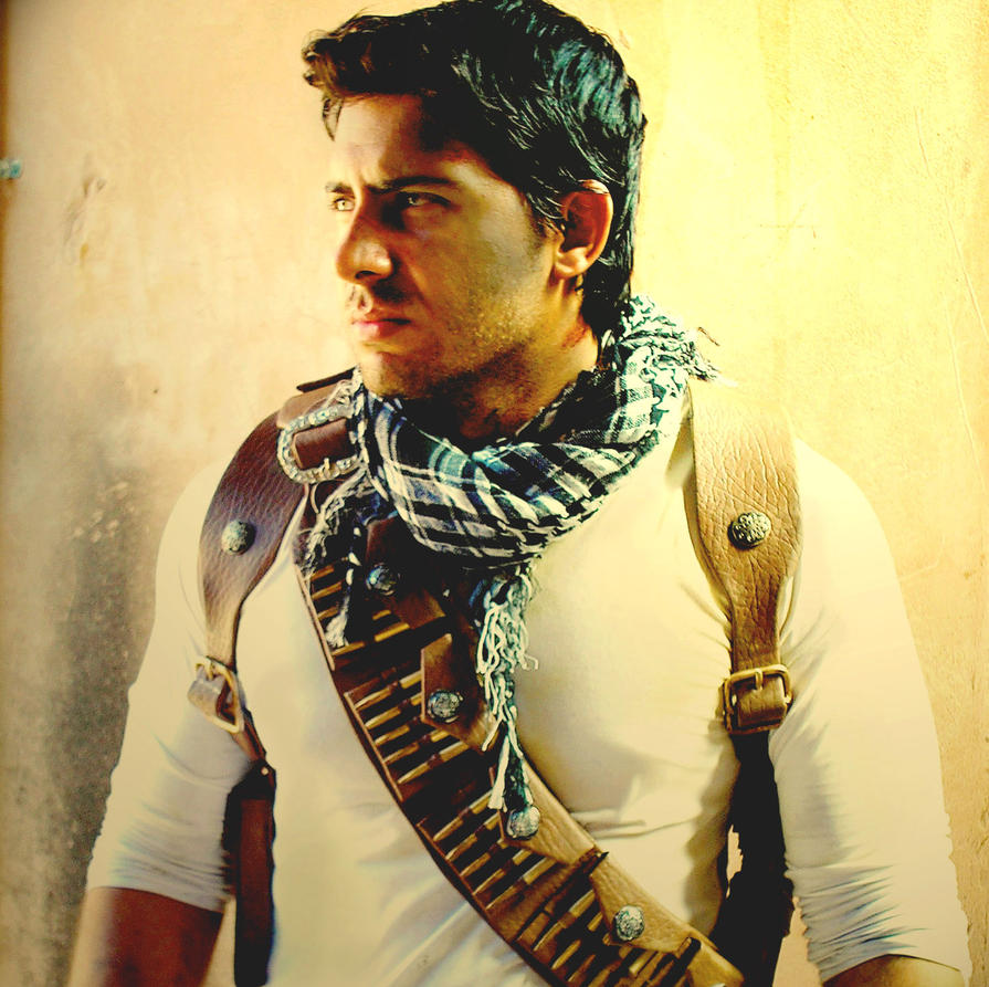 Cosplay Nathan Drake - Uncharted 3