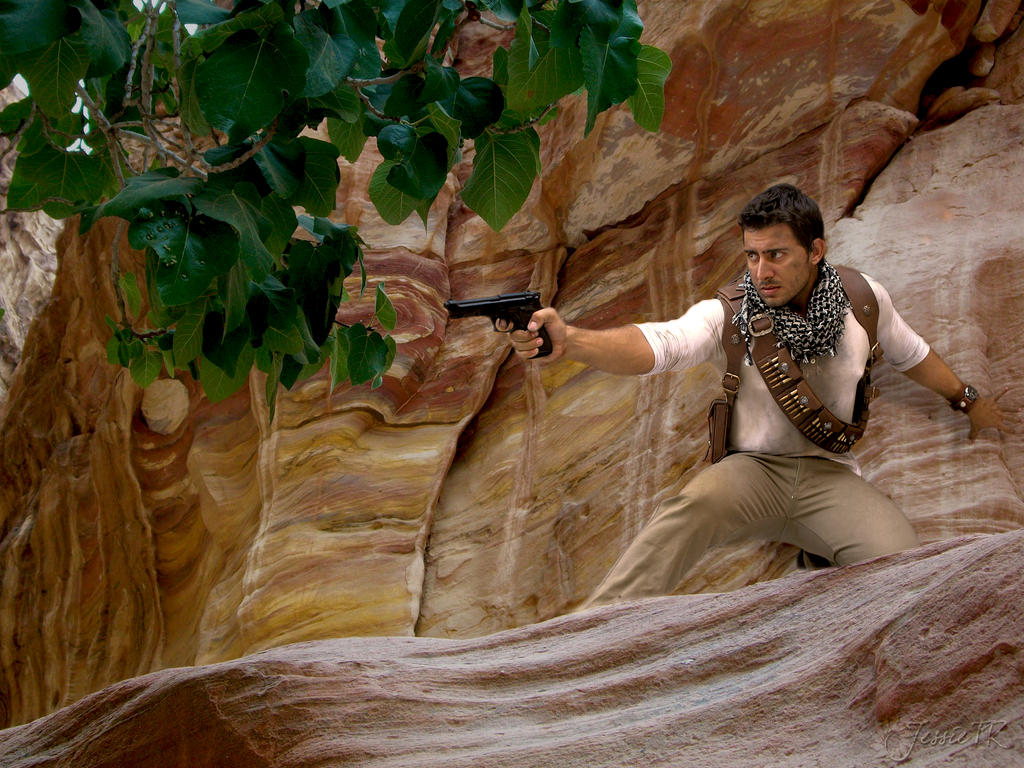 Cosplay Nathan Drake - Uncharted3