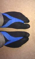 Nightwing Tabi Socks