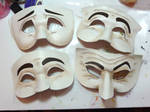 A Doll's House Final Masks by CTunmasked