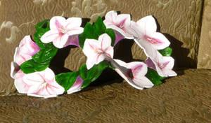 Blossom- Handmade Leather Mask