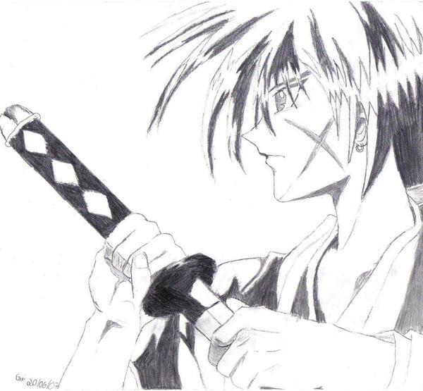 Kenshin Draw By Guiparaiso