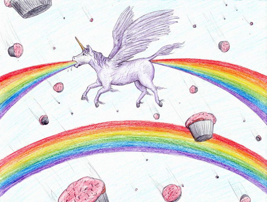 Unicorn Throwing Up